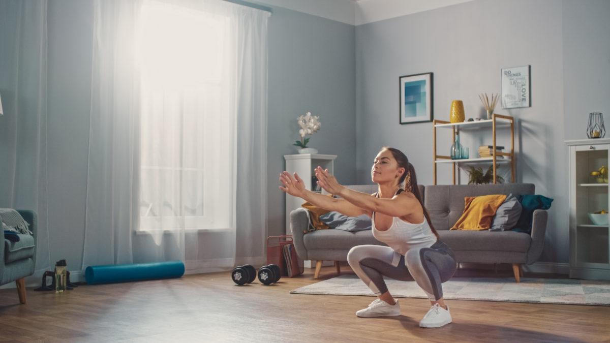 Domácí cvičení – Pevné nohy a zadek