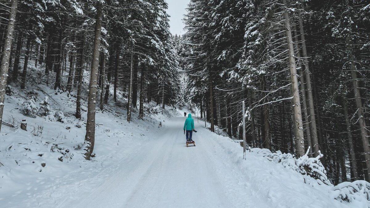 Zimní sporty v centru Prahy?